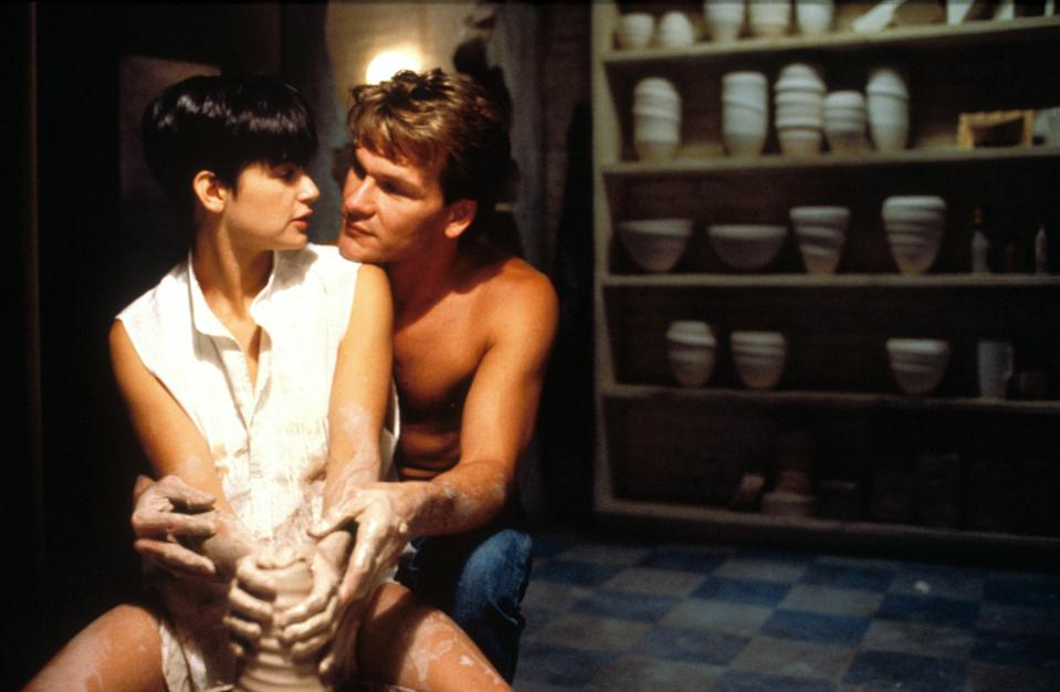 The famous pottery scene in <em>Ghost</em>. (Photo: Paramount Pictures / Courtesy Everett Collection)