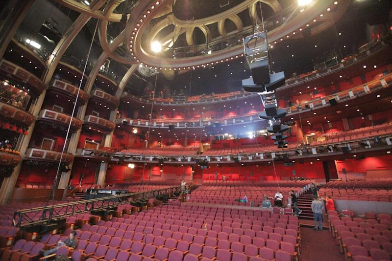 Dolby Theater Seating Chart Oscars Venue Reopens As Theatre