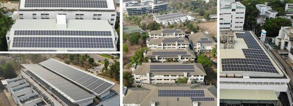 Chiang Mai University rooftop PV project
