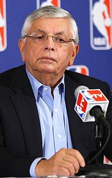 NBA commissioner David Stern will be tested by some of the league's hard-line owners