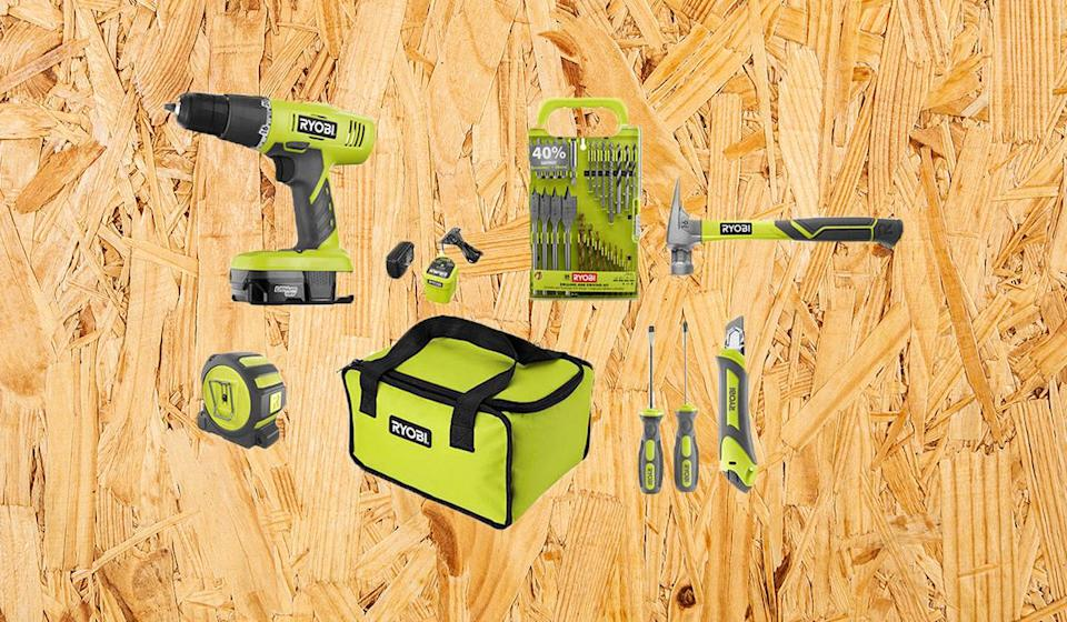The perfect starter kit. (Photo: Home Depot)