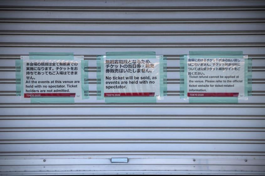 Signs in Tokyo.