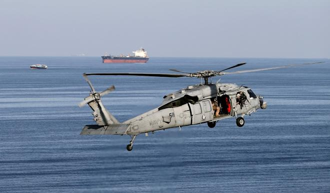 An American MH-60 helicopter. Photo: Reuters
