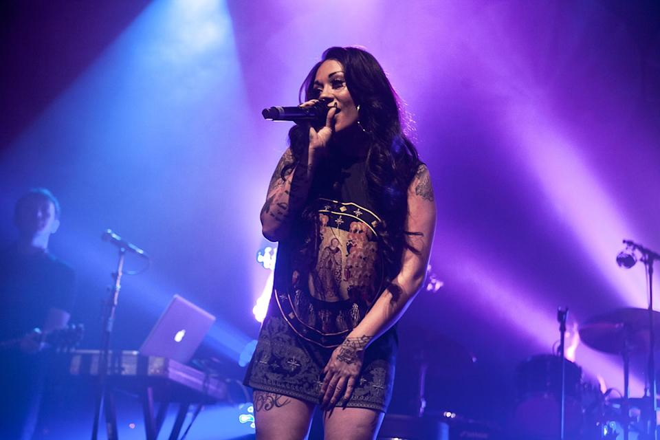 <p>Now: The star has remained pretty under the raider with only with a brief stint in the Celebrity Big Brother house. However, her Twitter bio reveals that she is still a singer/songwriter and solo artist. [Photo: Getty] </p>
