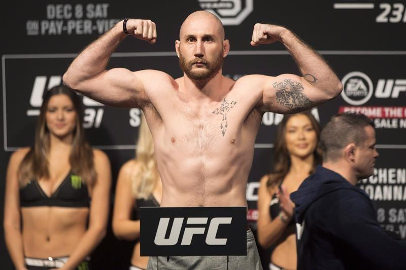 Canadian Kyle (The Monster) Nelson suffers third-round knockout on UFC card