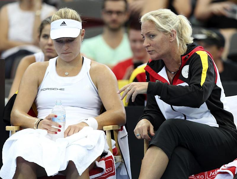Fed Cup: Germany beat Australia in semifinal