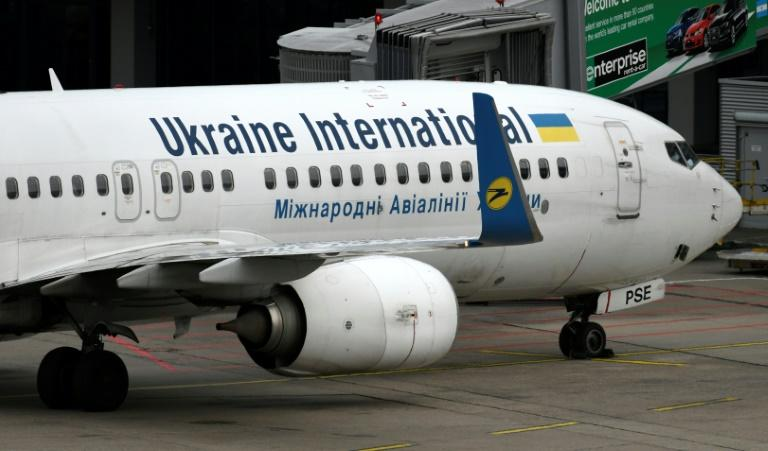 Analsyts say it is irresponsible to immediately link the crash of a Ukraine International Airline Boeing 737-800 to the 737 MAX accidents (AFP Photo/INA FASSBENDER)