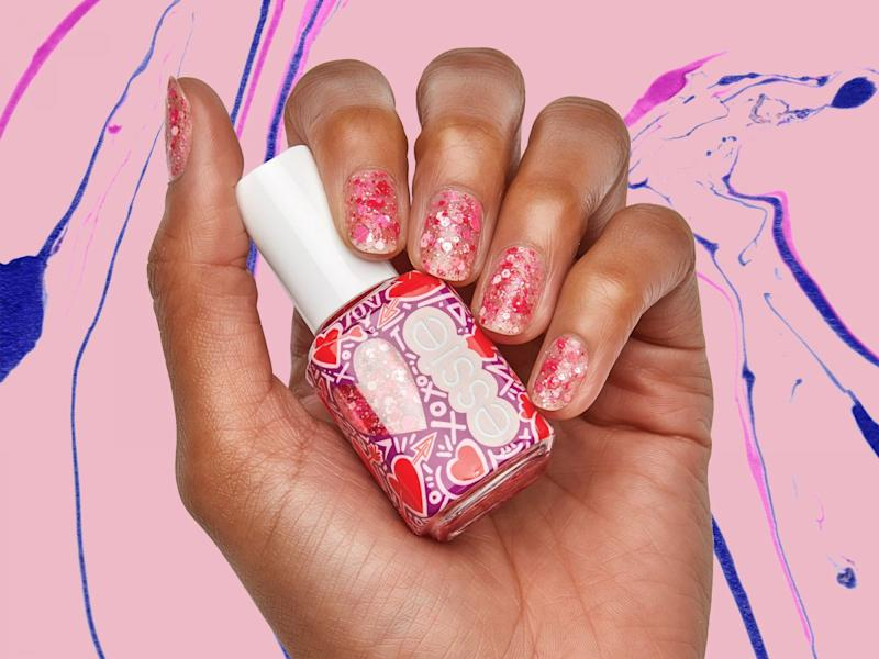 Essie S Brand New Valentine S Day Nail Polishes Are Sparkly Sweet