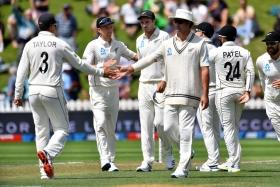 India bundled out for 165, New Zealand 17/0 at lunch on day 2