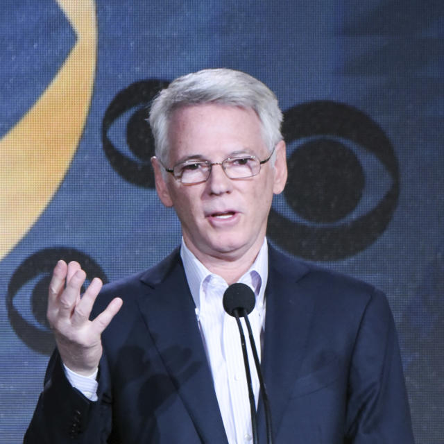 """FILE - In this Jan. 12, 2016, file photo, Chairman CBS Sports Sean McManus participates in the """"CBS Sports"""" panel at the CBS 2016 Winter TCA, in Pasadena, Calif. CBS has signed an 11-year deal to continue broadcasting the PGA Championship, partnering with ESPN.(Photo by Richard Shotwell/In vision/AP, File)"""