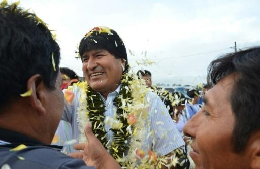 Bolivia's Morales hopes late ballots will result in vote victory