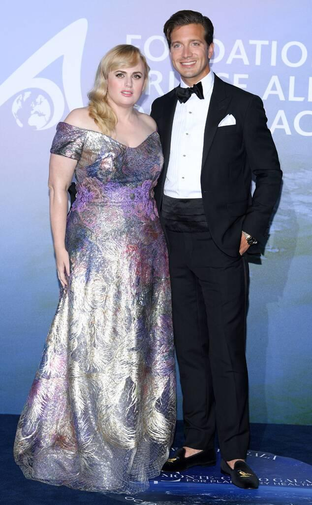 Rebel Wilson, Jacob Busch, 2020 Monte Carlo Gala For Planetary Health