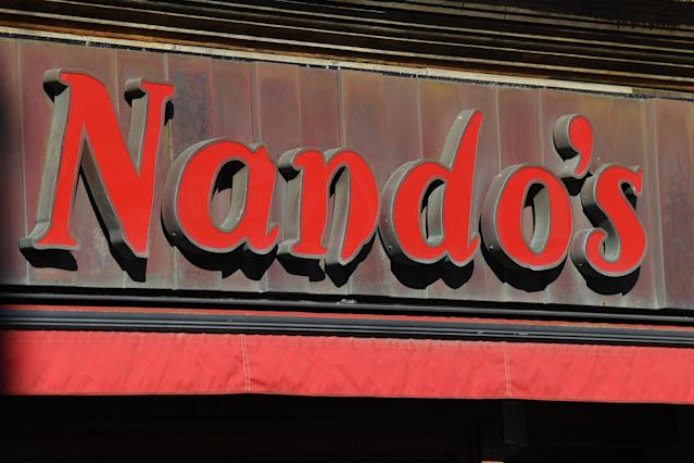 Nando's will be re-opening four sites in London and two in Manchester for delivery only. (Mike Hewitt/Getty Images)