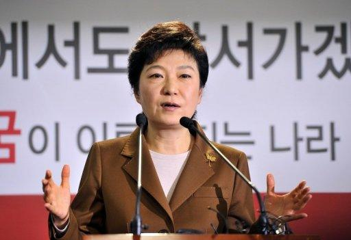 South Korea's presidential candidate, Park Geun-Hye, currently leads opinion polls for the December 19 election