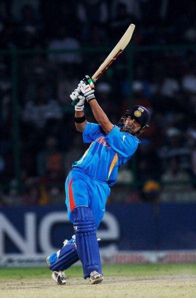 The image of Gautam Gambhir dancing down the pitch against bowlers will remain etched in the memory.