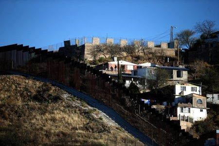 The U.S. border with Mexico is seen in Nogales, Arizona, U.S., January 31, 2017. REUTERS/Lucy Nicholson