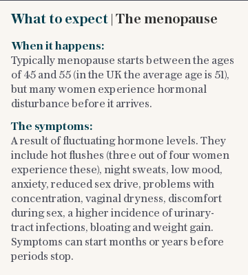 What to expect | The menopause