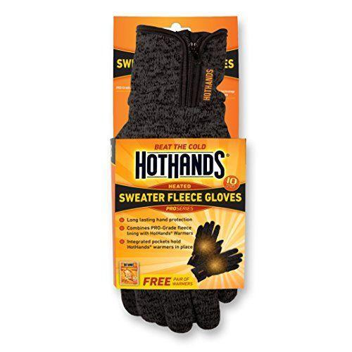 "<p><strong>HotHands</strong></p><p>amazon.com</p><p><strong>$19.24</strong></p><p><a href=""https://www.amazon.com/dp/B01H5AMU6E?tag=syn-yahoo-20&ascsubtag=%5Bartid%7C10050.g.35193729%5Bsrc%7Cyahoo-us"" rel=""nofollow noopener"" target=""_blank"" data-ylk=""slk:Shop Now"" class=""link rapid-noclick-resp"">Shop Now</a></p><p>When it comes to bang for your buck, you can't do better than these fleece gloves designed with pockets to hold <a href=""https://www.amazon.com/HotHands-Hand-Warmers-Odorless-Activated/dp/B0007ZF4OA/ref=psdc_14329821_t1_B01H5AMU6E"" rel=""nofollow noopener"" target=""_blank"" data-ylk=""slk:HotHands popular hand warmers"" class=""link rapid-noclick-resp"">HotHands popular hand warmers</a> in place. While battery-powered options with heated fingers may be better fits for high performance sports, the chemical heat from these warmers keeps hands toasty for 10 hours, plenty of time for a leisurely walk or watching the game outside. </p>"