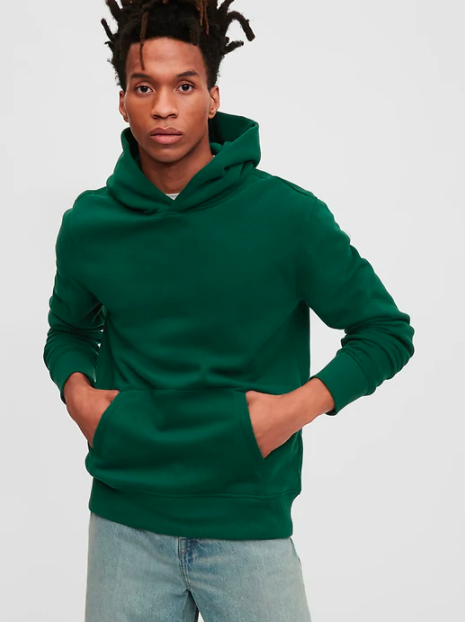"""<strong>— PAID —</strong><br><br>A dark-green hoodie that's as cool as it is comfortable.<br><br><br><strong>Gap</strong> Vintage Soft Hoodie, $, available at <a href=""""https://go.skimresources.com/?id=30283X879131&url=https%3A%2F%2Fwww.gap.com%2Fbrowse%2Fproduct.do%3Fpid%3D618712082%26pcid%3D999%26vid%3D1%26%26searchText%3Dvintage%2520soft%2520hoodie%26tid%3Dgpme001651%23pdp-page-content"""" rel=""""nofollow noopener"""" target=""""_blank"""" data-ylk=""""slk:Gap"""" class=""""link rapid-noclick-resp"""">Gap</a>"""