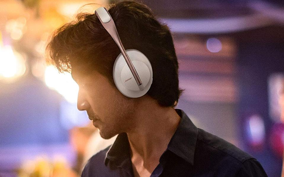Save $50 on the newest noise-canceling headphones from Bose. (Photo: Amazon)