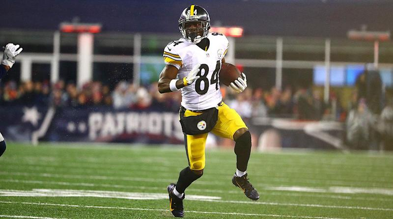 Playing Catch-up With Steelers' Antonio Brown