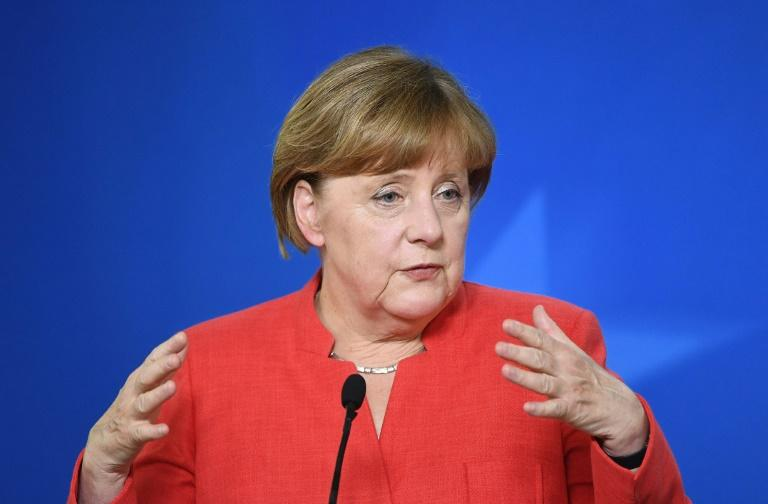 Merkel set for Trump showdown after vowing climate focus at G20 summit