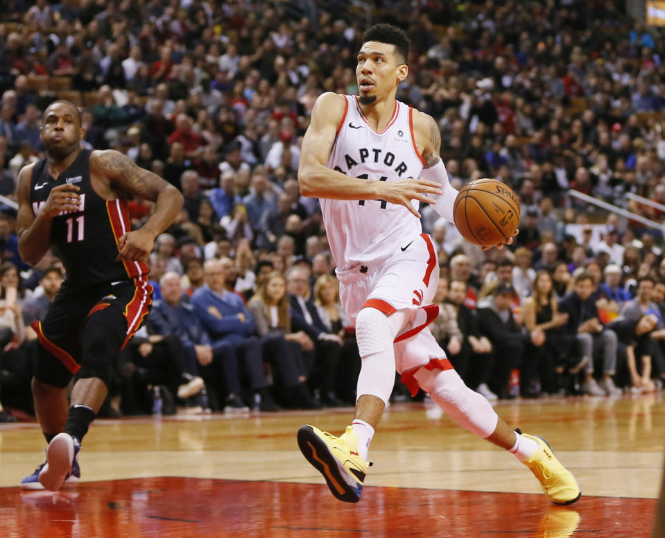 Danny Green believes the Toronto Raptors would reject a formal invite to the White House due to Donald Trump's policies and conduct. (John E. Sokolowski-USA TODAY Sports)