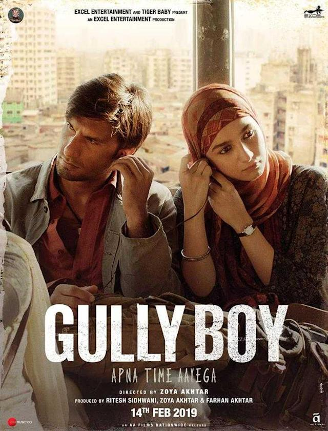 Director Zoya Akhtar's 'Gully Boy', featuring Ranveer Singh in the lead, has been selected as India's official entry in the International Feature Film category at the 92nd Academy Awards. 'Gully Boy' is the story of a rapper from the streets of Mumbai who dreams of making it big in the world of music. In the film, Ranveer and Siddhant Chaturvedi play budding street rappers Murad and MC Sher from the slums of Mumbai, while Alia essays the role of Safeena, an aspiring medical student in love with Murad.