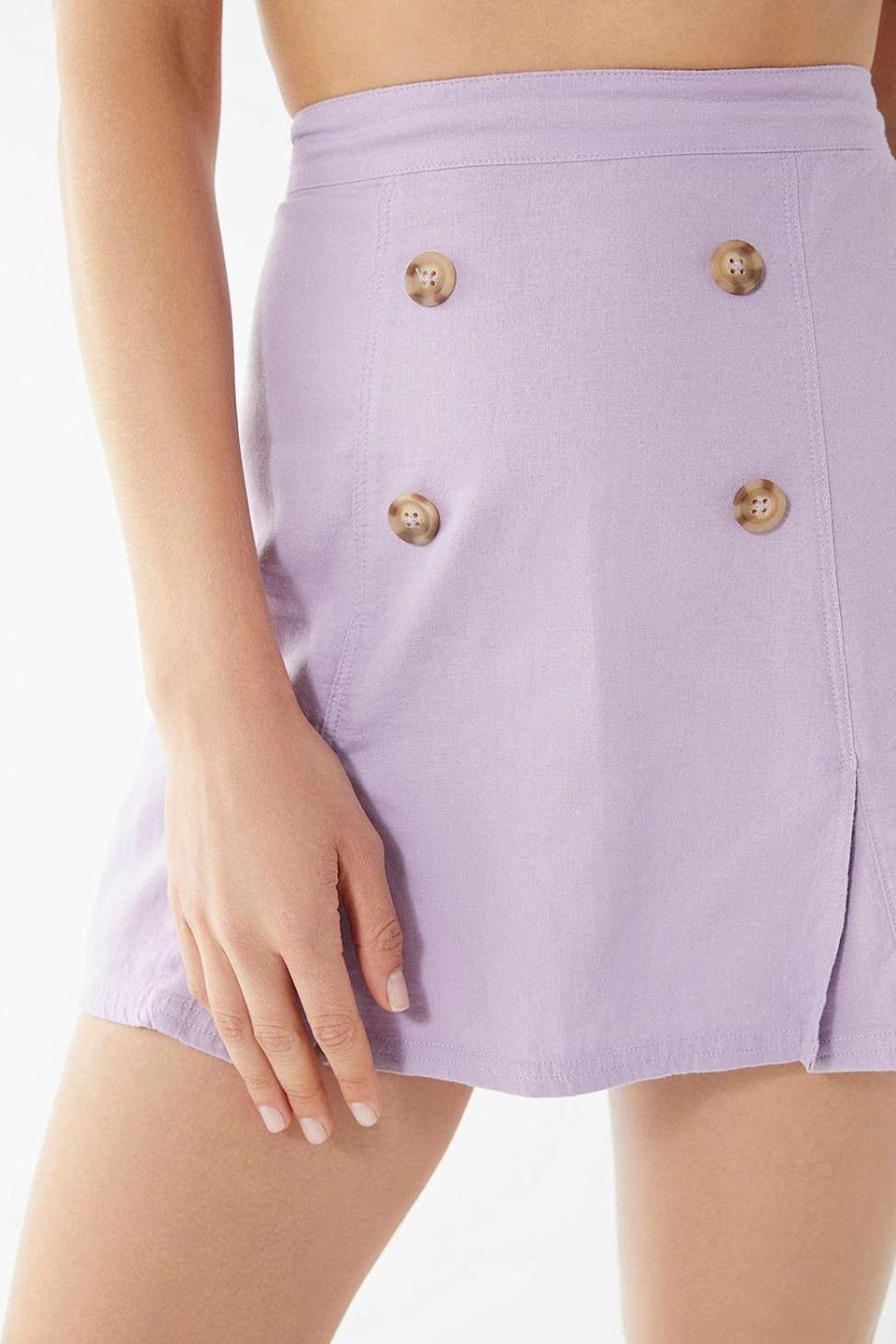 So into miniskirts right now. Available in sizes XS to XL.