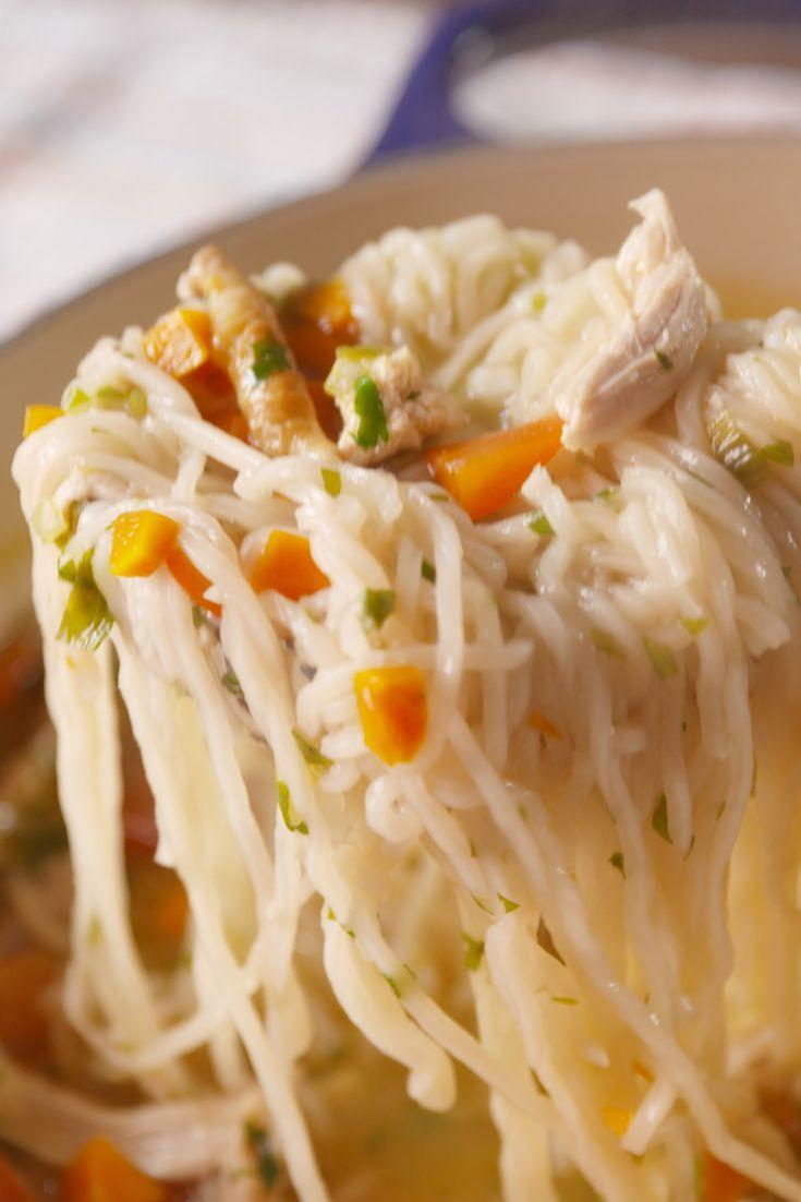 """<p>Kick the packets to the curb. </p><p>Get the recipe from <a href=""""https://www.delish.com/cooking/recipe-ideas/recipes/a49787/ramen-chicken-noodle-recipe/"""" rel=""""nofollow noopener"""" target=""""_blank"""" data-ylk=""""slk:Delish"""" class=""""link rapid-noclick-resp"""">Delish</a>.</p>"""