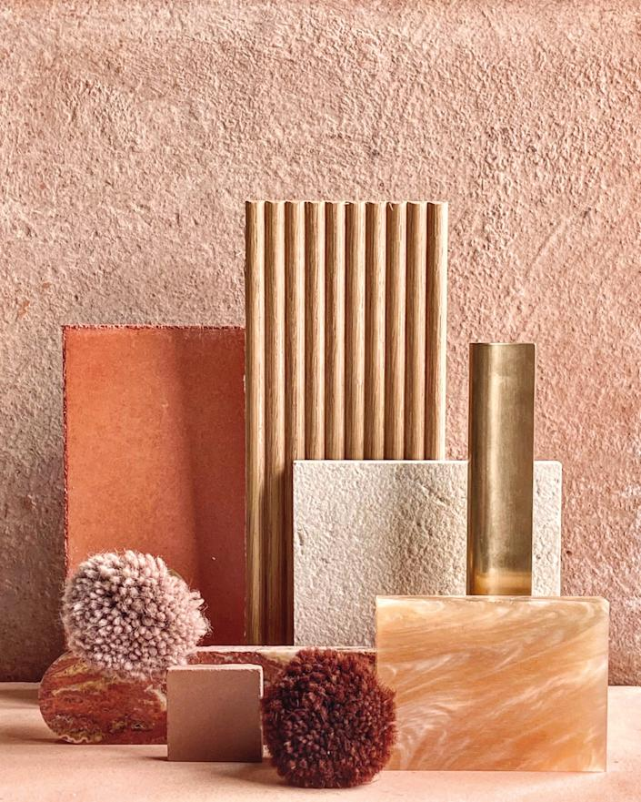 """<div class=""""caption""""> A color story to show one of Armadillo & Co.'s new palettes. </div> <cite class=""""credit"""">Photo: Courtesy of Armadillo & Co.</cite>"""