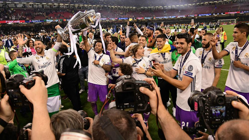 Real Madrid Champions League celebrations 03062017