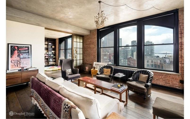 <p>The one-bedroom, one-and-a-half-bathroom bohemiam-themed apartment has undergone a major renovation since it was purchased back in July, 2007. Source: Streeteasy via Douglas Elliman </p>