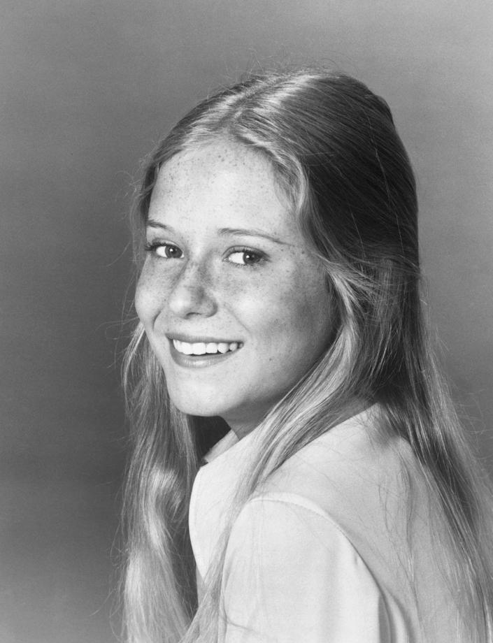 <p>Eve Plumb was just 12 years old when she appeared in her breakout role as Jan Brady on <em>The Brady Bunch</em>. The '70s television show was a hit, running for five seasons and resulting in numerous spin-offs, making Plumb one of the most famous child stars of the decade. </p>