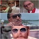 The bad boys of Bollywood not only get the best lines but also the fancier pair of sunglasses. Kader Khan in Parvarish (1977), Bob Christo in Farz Ki Jung (1989), Danny Denzongpa in Agneepath (1990), and Ajit in Yaadon Ki Baaraat (1973)