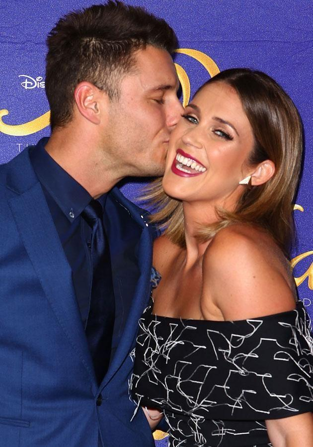 Georgia and her boyfriend Lee fell in love on our screens. Source: Getty