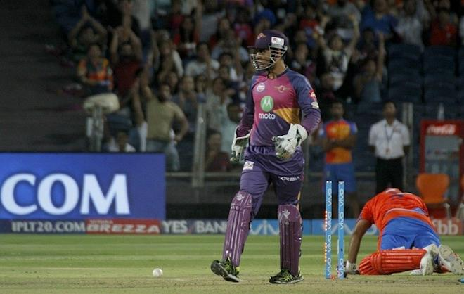 MS Dhoni, Rising Pune Supergiant, cake smash, IPl 2017