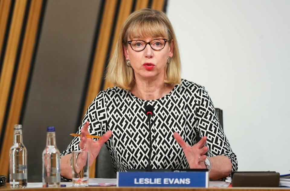 Leslie Evans' investigation was prompted by complaints from two civil servants (Russell Cheyne/PA) (PA Archive)
