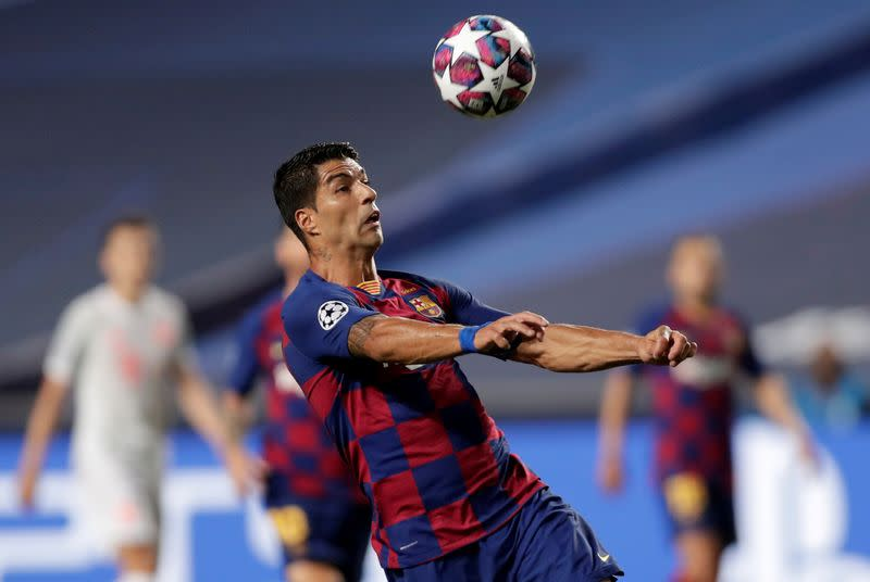 Suarez cried over treatment in final days at Barca