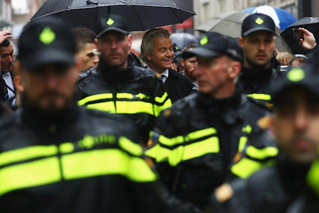 Wilders security