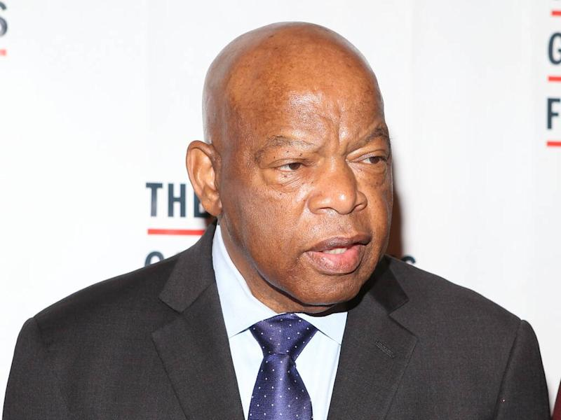 Stars rally for civil rights icon John Lewis after cancer diagnosis
