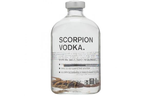 <b>3. Scorpion Vodka:</b> To everyone who considers vodka to be the ladies' poison, think again. Vodka is a strong concoction, and the Russian's love it. Albeit this time around they've taken it to the next level. Scorpion Vodka has a full-length scorpion preserved vodka in it. And is used as an aphrodisiac in south-east Asia and for medicinal uses such as back and muscle pain. Oh, and the scorpion is edible, along with its stinger.