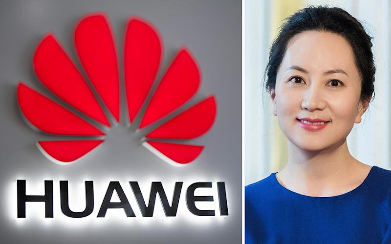 Wanzhou Meng was arrested in Vancouver on Saturday amid deepening suspicions of Huawei in the UK and elsewhere - AFP/AP