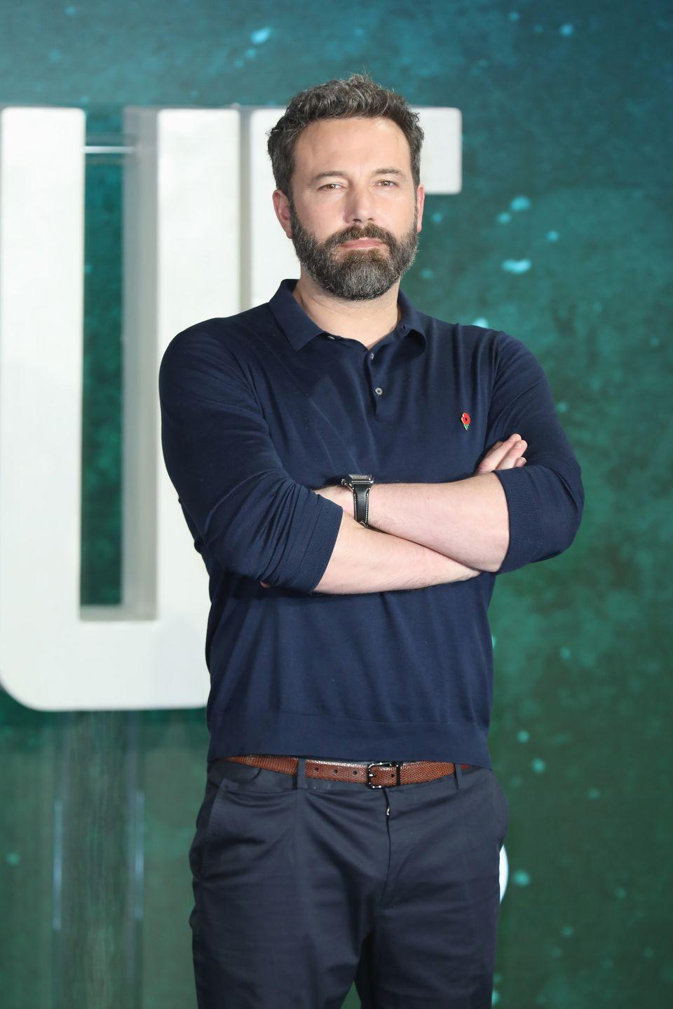 <p>We can't remember when Affleck swapped his pretty boy look for a beard, but it definitely makes him look more serious.</p>