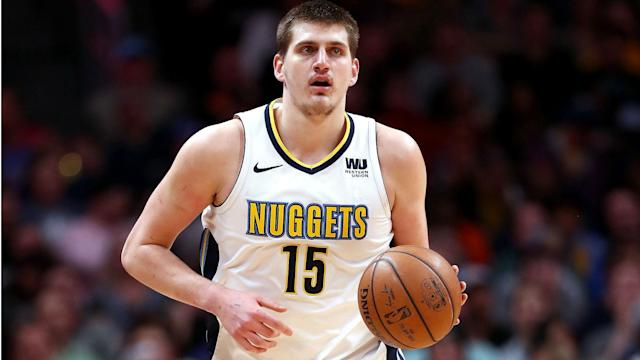 The Denver Nuggets (47-22) become the second Western Conference team to secure a 2018-19 NBA playoff place after beating the Boston Celtics.