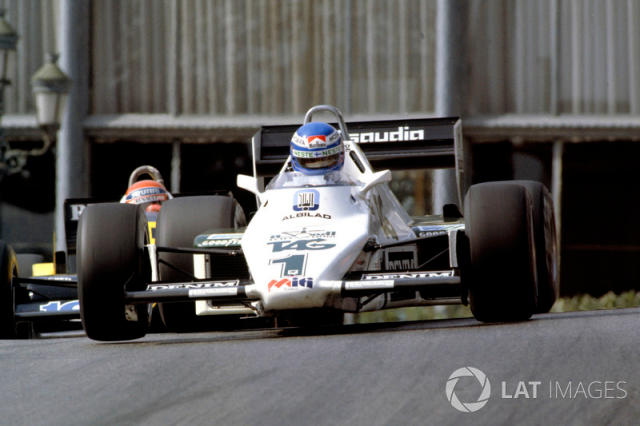 "Keke Rosberg, Williams FW08C Ford <span class=""copyright"">Motorsport Images</span>"