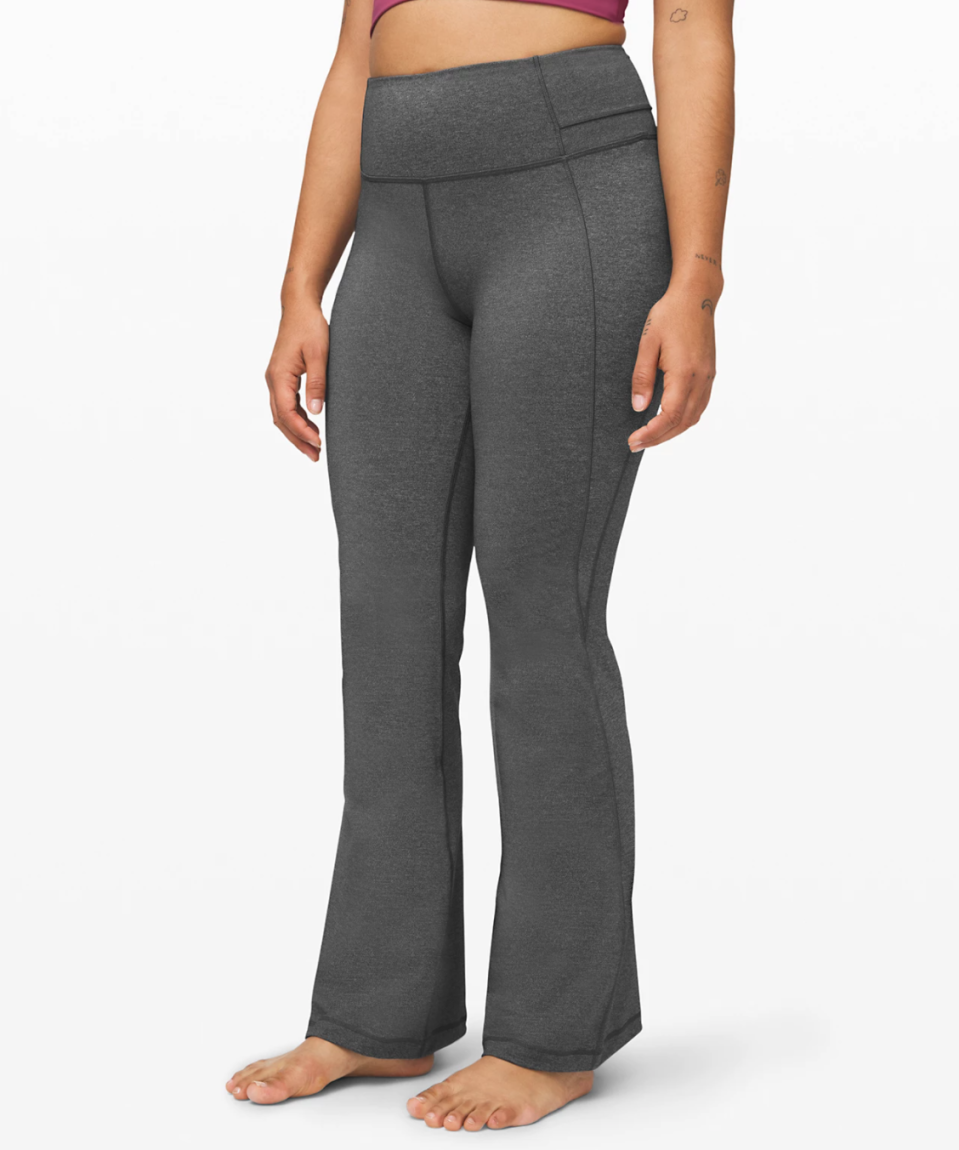 "Groove Pant Flare 32"" Full-On Luxtreme. Image via Lululemon."