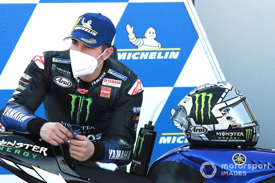 "Segundo puesto Maverick Viñales, Yamaha Factory Racing <span class=""copyright"">Gold and Goose / Motorsport Images</span>"