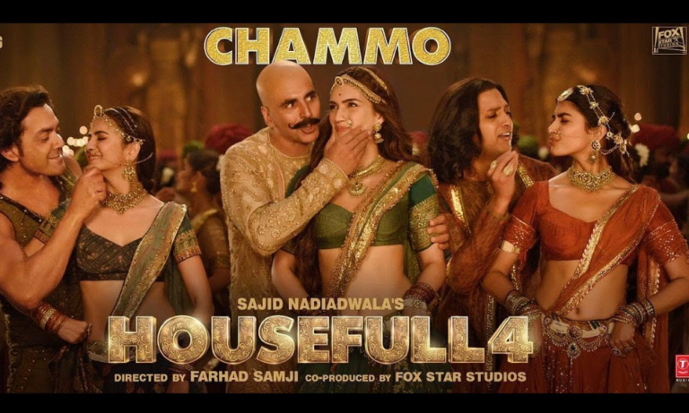The latest song from Housefull 4 titled 'Chammo' is out now!