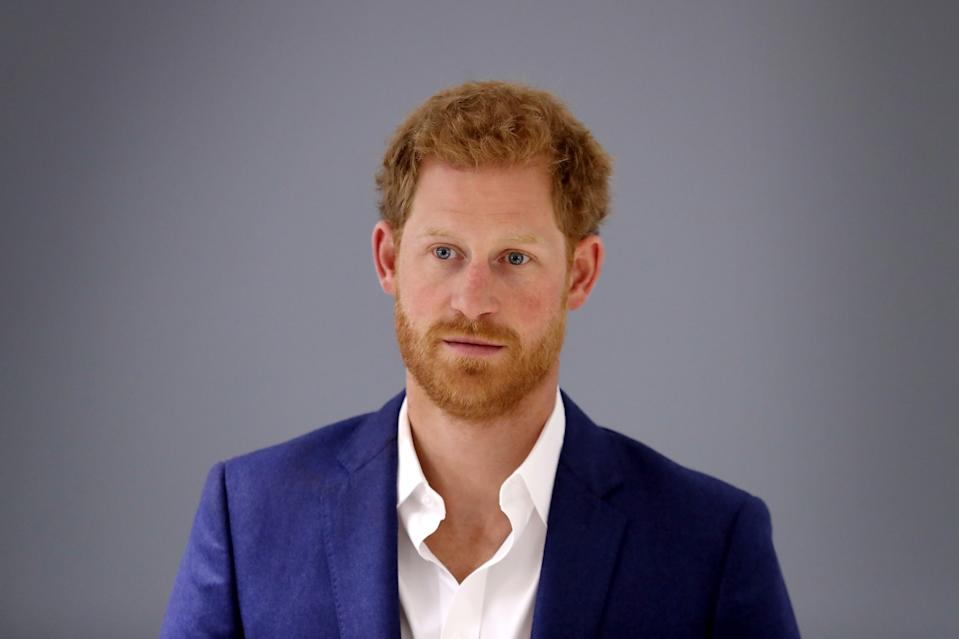 MANCHESTER, ENGLAND - SEPTEMBER 04:  Prince Harry visits the NHS Manchester Resilience Hub on September 4, 2017 in Manchester, England.  (Photo by Chris Jackson - Pool/Getty Images)